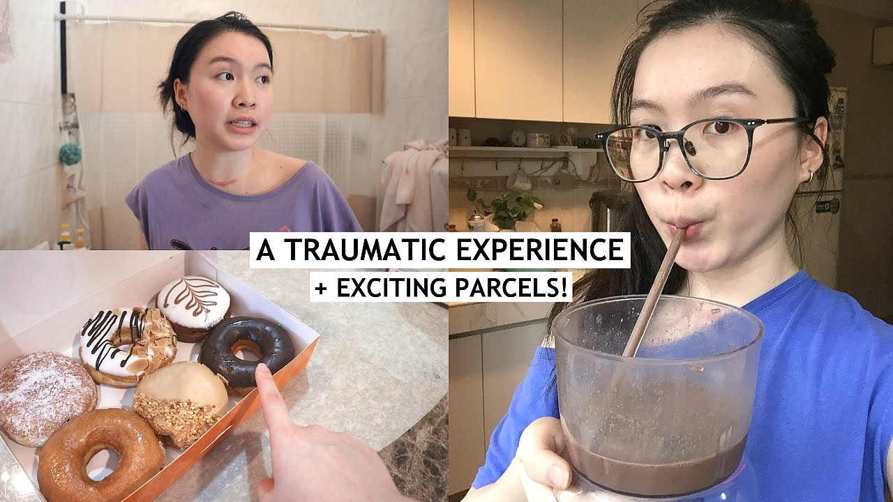 vlog: a traumatic incident, exciting parcels + first barre session!