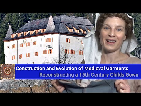 Construction And Evolution Of Medieval Garments  -  Reconstructing A 15th Century Child's Gown