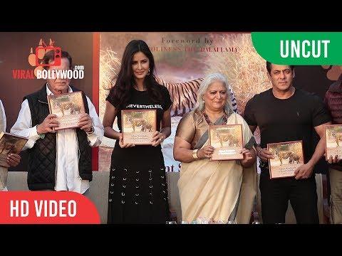 UNCUT - Silent Sentinels of Ranthambhore Book Launch | Salman Khan, Katrina Kaif, Salim Khan