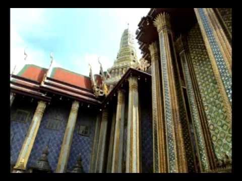Королевский дворец в Бангкоке, храм лежащего Будды, храмовый комплекс в Паттайе. The Royal Palace