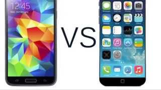 iphone 6 vs galaxy s5 en espaol comparacin iphone 5 y galaxy s5