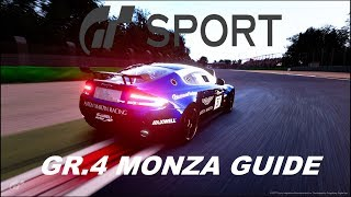 �������� ���� GT SPORT MASTER MONZA IN GR.4 SPORT MODE ������
