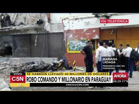 C5N - Mundo: Robo comando y millonario en Ciudad del Este, Paraguay