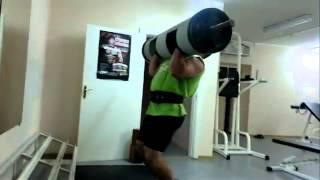 Александр Курак, логлифт  - 150 кг,подготовка к KRINICA MINSK STRONGMAN CUP -  2014.