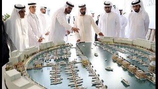 محمد بن راشد يدشن أول جزيرة اصطناعية من نوعها في العالم
