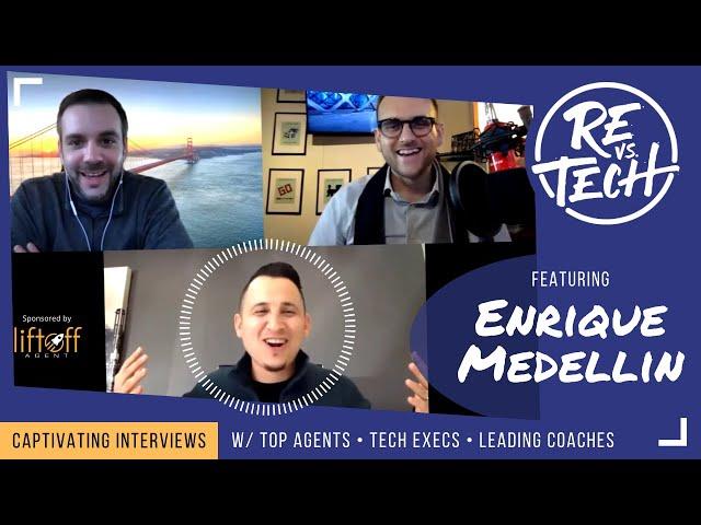 Real Estate Vs Tech with Enrique Medellin!! Episode 010