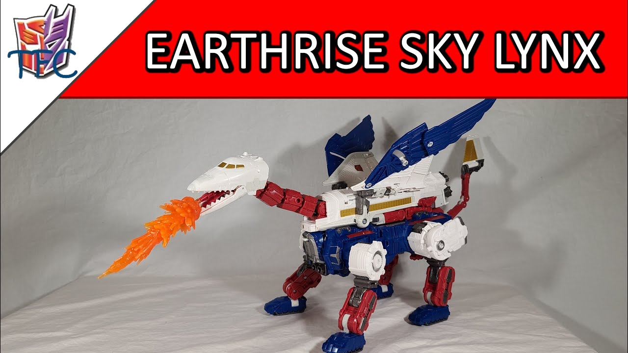 TF Collector Earthrise Sky Lynx Review!