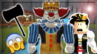 HE'S BACK! CLOWNING AROUND IN FLEE THE FACILITY! (Roblox Roleplay)