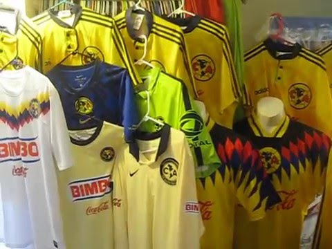 f271053cd SOCCER JERSEY CAMISETAS CAMISAS DEL CLUB AMERICA AGUILAS COLECCION SHIRTS  COLLECTION UNBOXING FUTBOL - YouTube