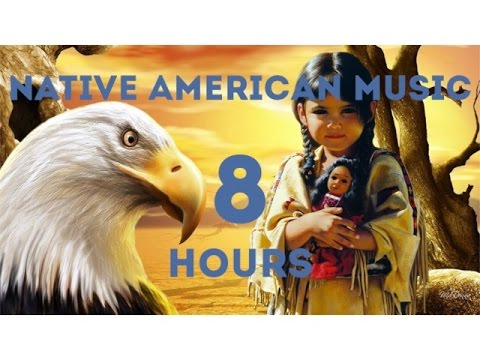 8 HOURS Music Therapy / NATIVE AMERICAN FLUTE For Meditation, Relax, Yoga, Concentration.