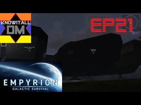 Empyrion: Galactic Survival Episode 21 - Capitol Ship Construction