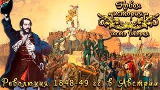 Революция 1848-49 годов в Австрии (рус.) Новая история
