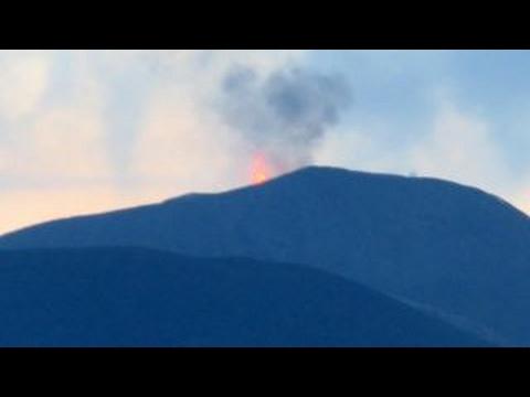 India's Barren Island volcano erupts, spews lava into air