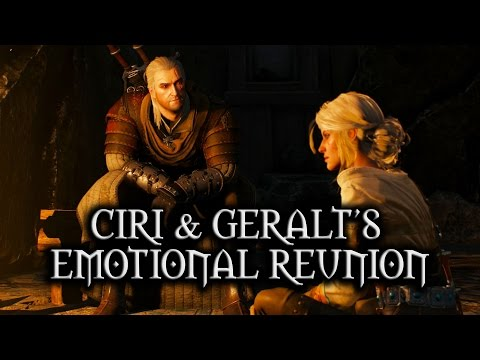 The best ending for Witcher 3 ; Love bond between Geralt ...