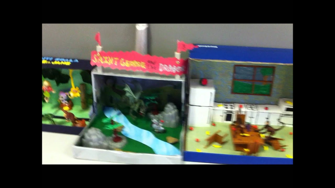 Pulaski Academy 2nd Grade Dioramas