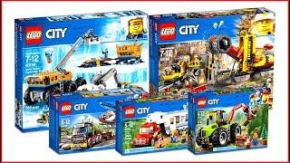 TOP 5 LEGO City Vehicles 2018 - Speed Build