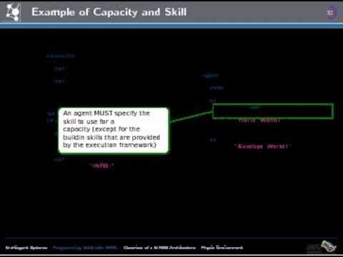 SARL Agent Programming Language