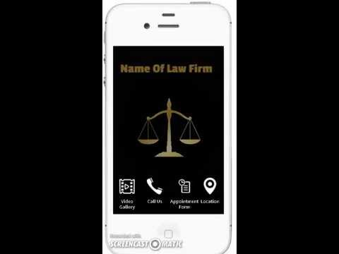 Law Firm App Demo