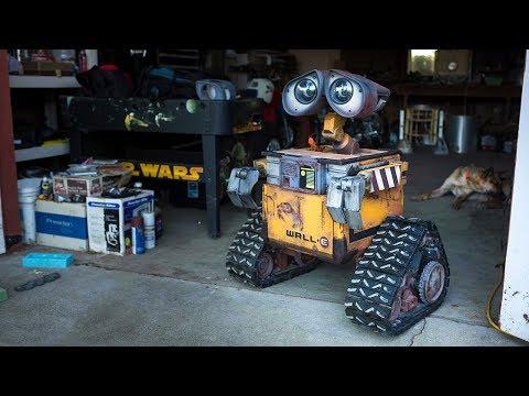 Как делают роботов на заводе видео