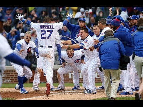 Chicago Cubs Highlights 2017 - April