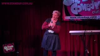Jenny Wynter @ The Sit Down Comedy Club - Centrelink