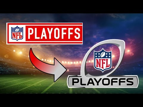 NFL Playoffs Logo Evolution (Wild Card/Divisional/Conference)