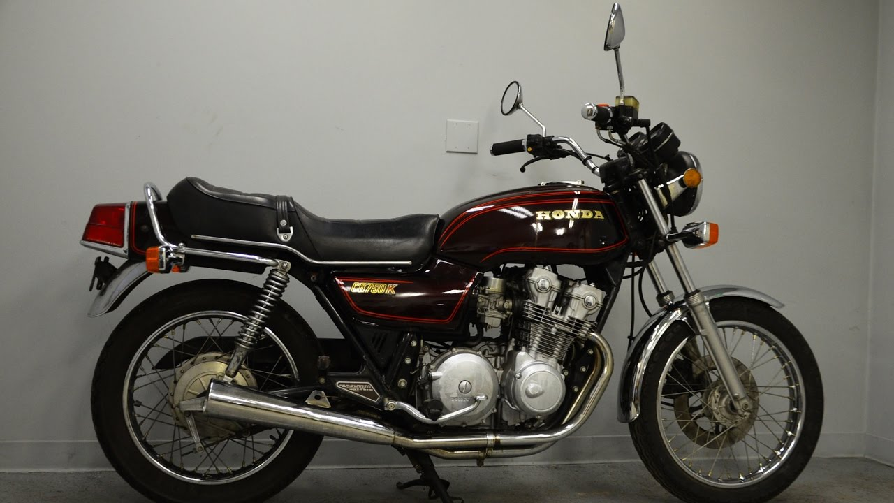 1979 Honda Cb750k - One-year Only - Sold