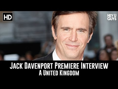 Jack Davenport LFF Premiere Interview - A United Kingdom