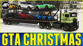 GTA 5 : CUSTOM SUPERCAR DELIVERY!!! (GTA Christmas Special)