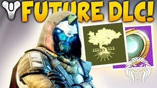 Destiny 2: cayde secrets & future dlc! darkness enemy, icy saturn moon, vex origin & expansions