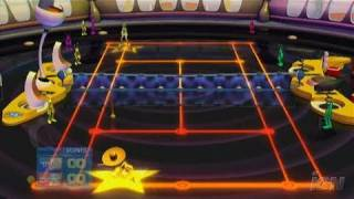 SEGA Superstars Tennis Nintendo Wii Gameplay - Space