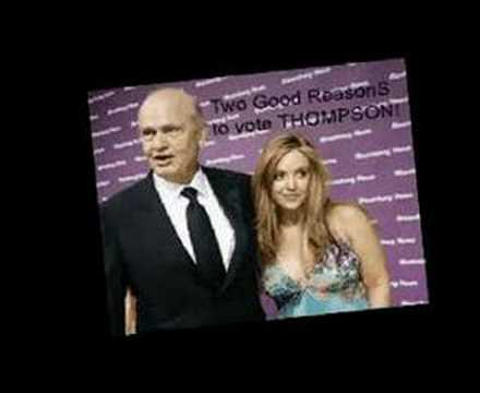 Fred Thompson and Bride