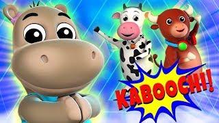 Танцевальная Песня Кабути | Танец Вызов | Kaboochi Dance Challenge | Cartoon Dance | Song For Kids