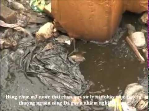 Clip: Kinh hoàng nguồn nước sạch bị ô nhiễm...