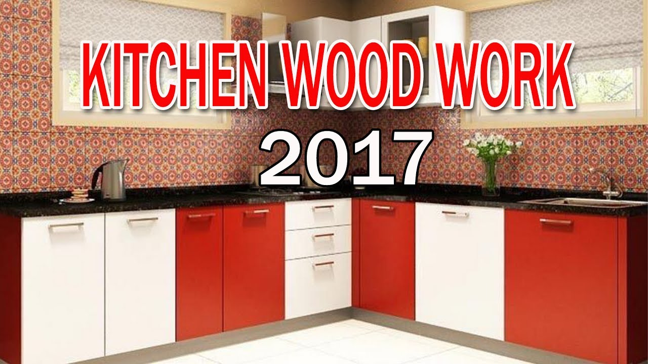 Kitchen Wood Work || Kitchen Interior by Rinku dubaiwala - YouTube