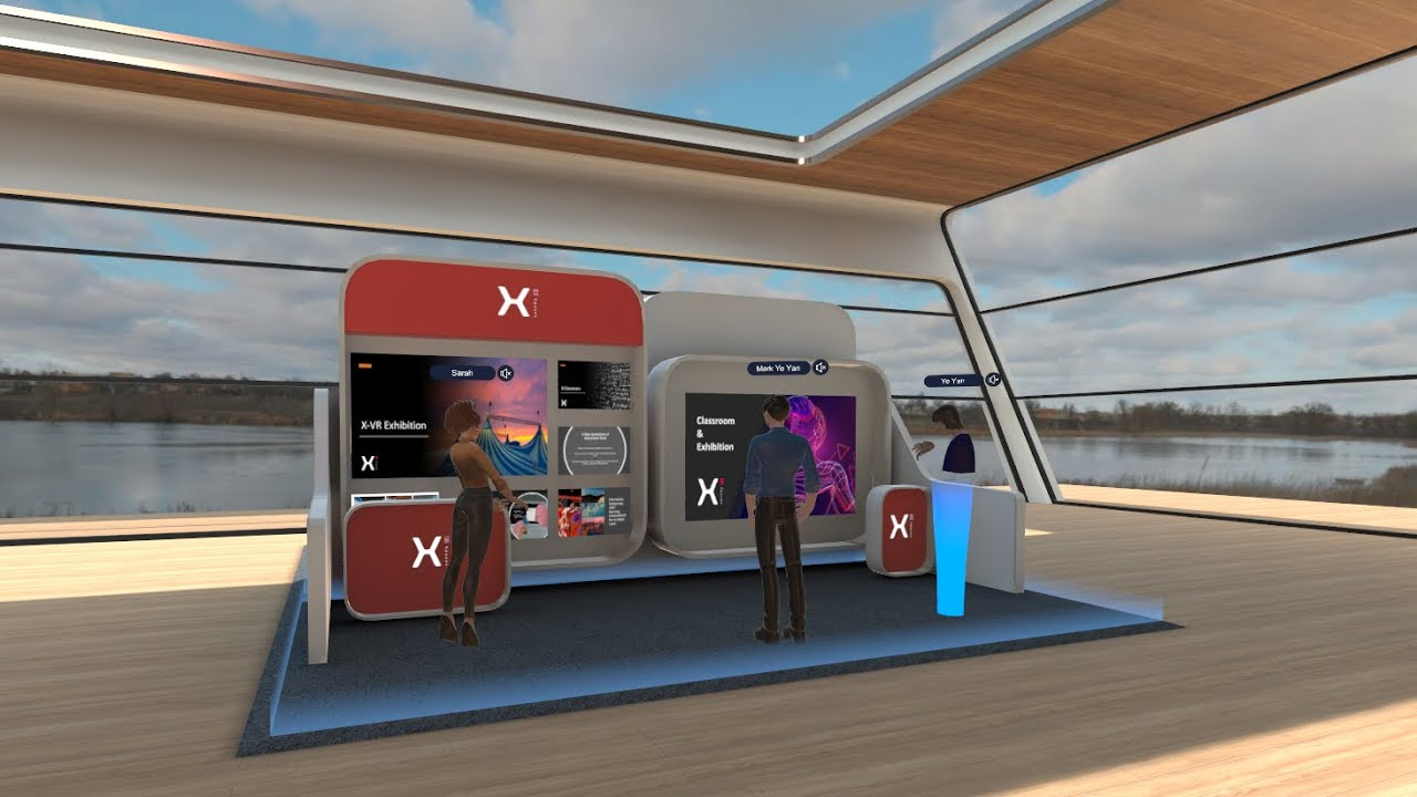 xExhibition - Create your permanent virtual booth and more!