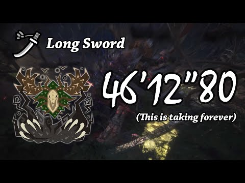 "Monster Hunter: World | Ancient Leshen 46'12""80 (Long Sword Solo w/ Palico) thumbnail"
