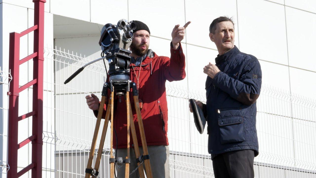 Снимаем кинокамерой Конвас на родине космонавта Германа Титова