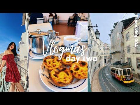 weekend exploring lisbon: how i take photos as a solo traveller | vlogmas day 2