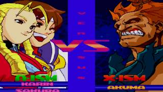[TAS] Street Fighter Alpha 3 - Karin/Sakura Dramatic Battle