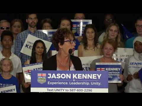 Jason Kenney's United Conservative Leadership Announcement