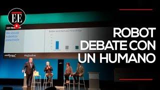 Un humano vence a robot de IBM en debate | El Espectador