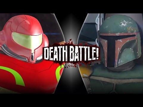 Boba Fett VS Samus Aran (Remastered) | DEATH BATTLE!