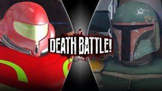 Boba Fett VS Samus Aran Remastered | DEATH BATTLE