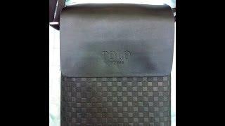 Мужская кожаная сумка через плечо POLO с Aliexspress(, 2014-05-23T18:27:40.000Z)