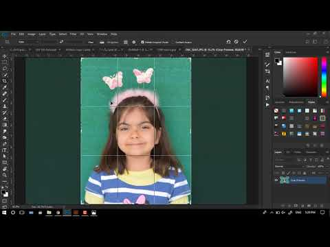 Characters Design Panel In Adobe Photoshop Cc 2018