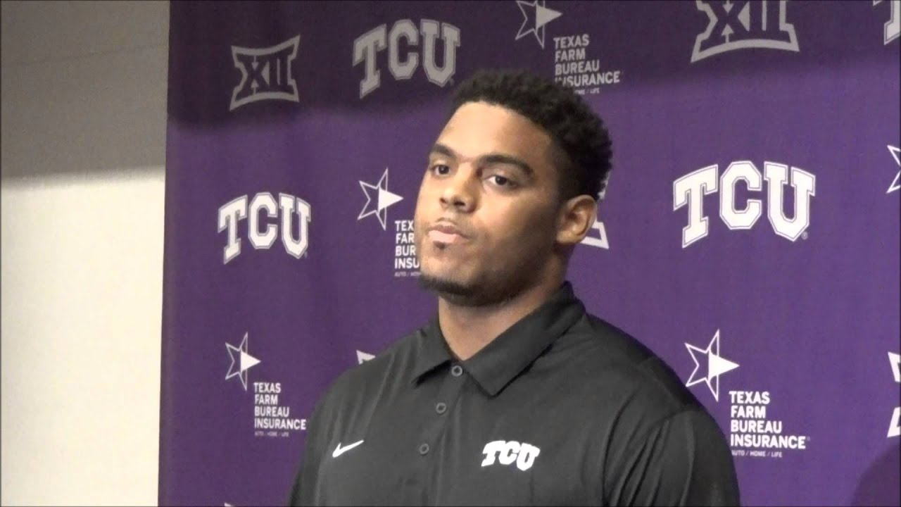 a120fb9cb AARON CURRY OF THE TCU HORNED FROGS TALKS UPCOMING OKLAHOMA STATE GAME