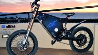 Edge 10000W High Performance 50mph E-Bike Fast Racing Electric Bicycle