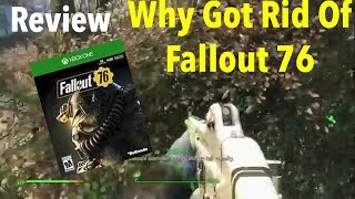 Why I Got Rid Of Fallout 76(Review)
