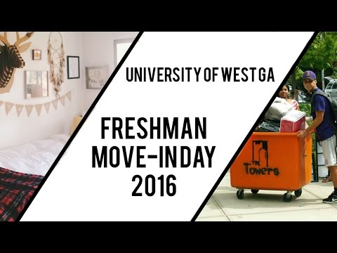 University of West Georgia Freshman Move- In Day 2016